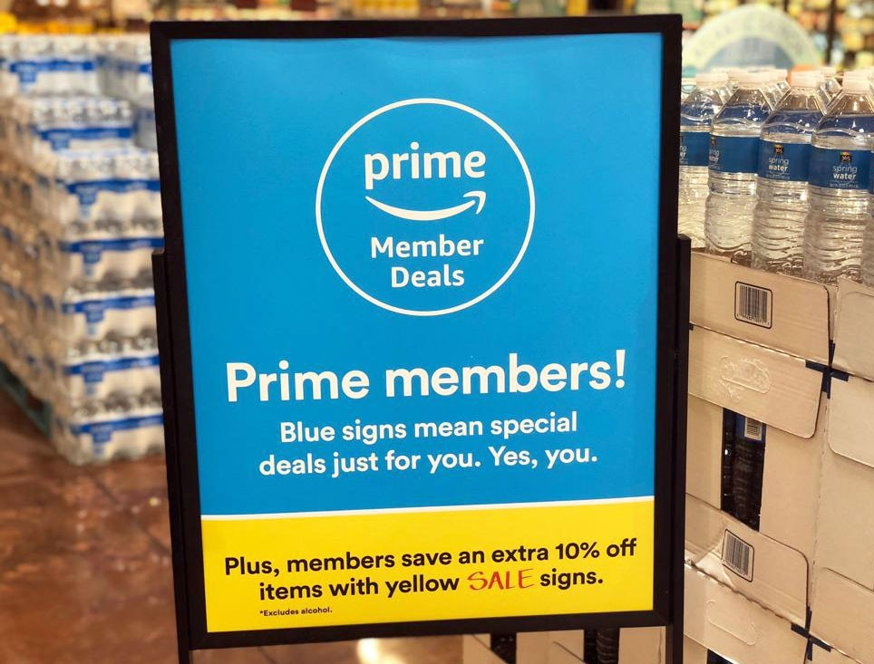 Whole Foods prime member deals